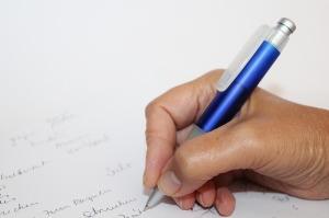 Write them down